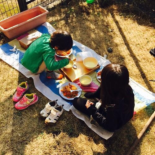 大晦日にピクニックがはじまる我が家