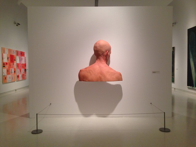 Evan Penny, Back of Evan 3. Knoxville Museum of Art