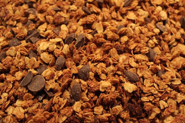 PB & Chocolate Chip Granola