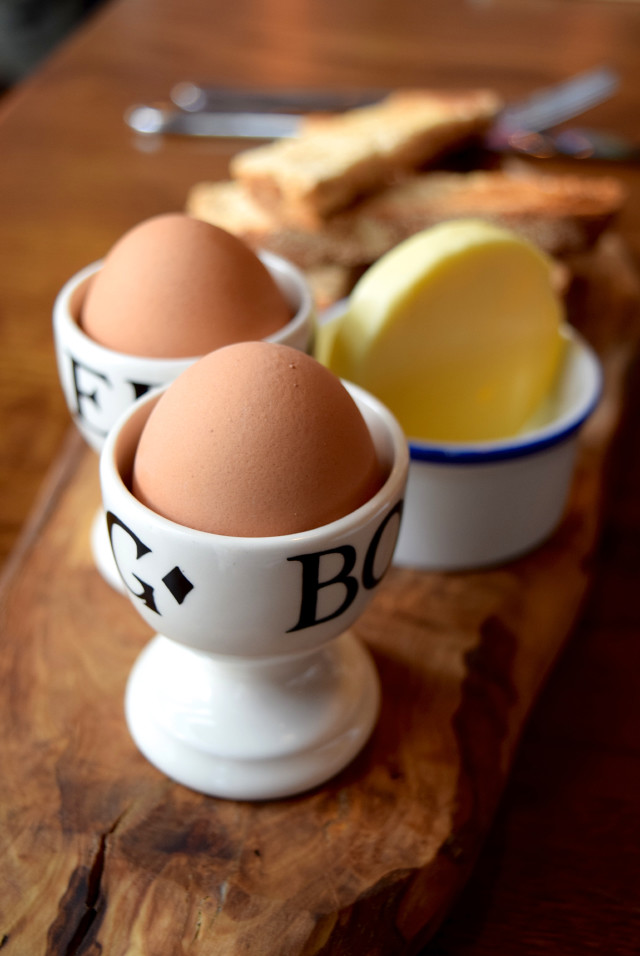 Boiled Eggs at The Fish & Chip Shop, Liverpool Street