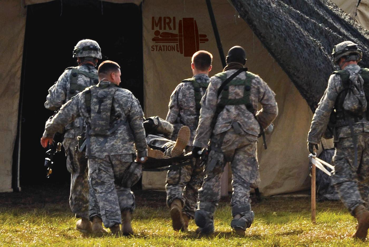 Battlefield MRI
