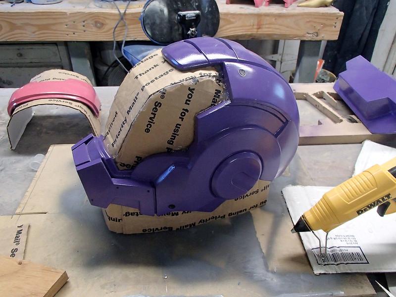 WM Helmet Cardboard Filler