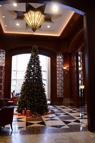 シェラトンインペリアル・クアラルンプールのクリスマスツリー