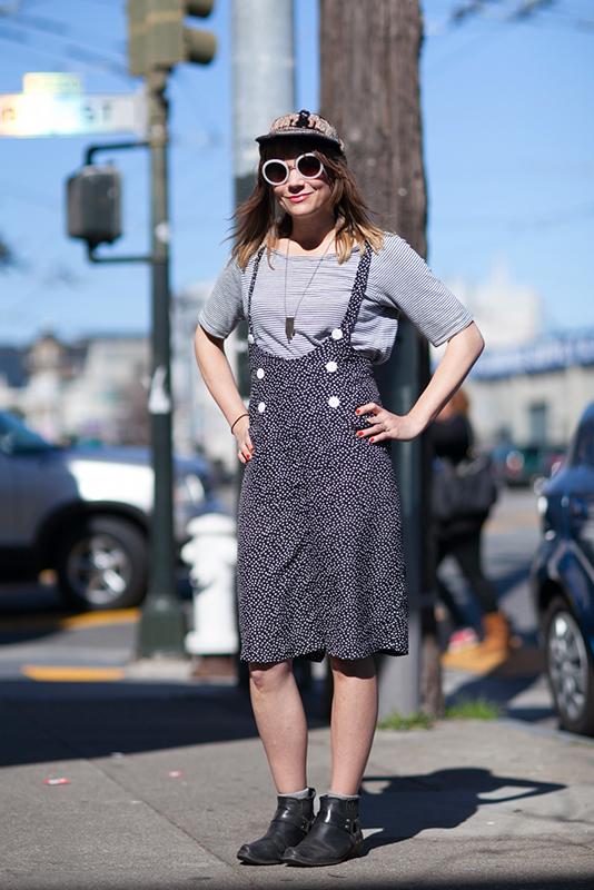 julia_berlin street style, street fashion, women, San Francisco, South Van Ness Avenue, Quick Shots