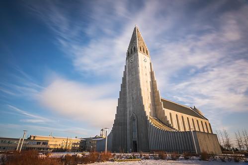 longexposure building tower clock church clouds iceland religion reykjavik christian lutheran hallgrímskirkja hallgrímur churchofhallgrímur