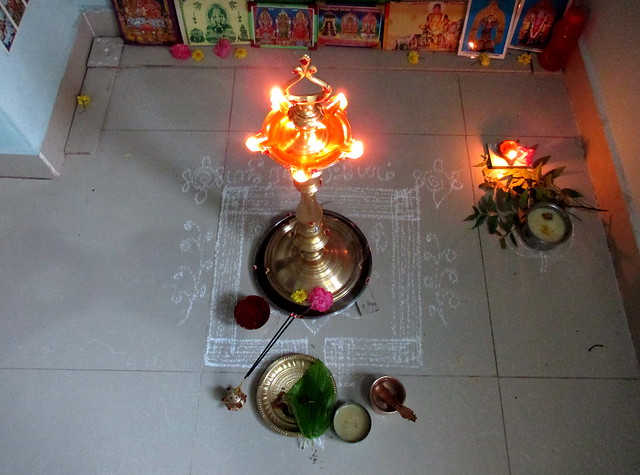 Friday vilakku pooja