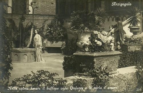 Italia Almirante and Annibale Betrone in L'arzigogolo
