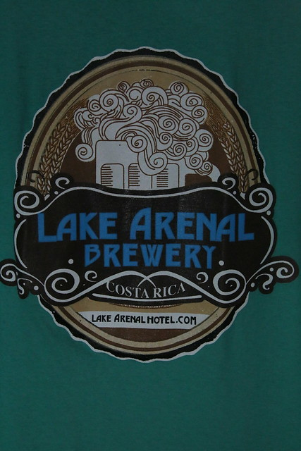 Lake Arenal Brewery, Costa Rica.
