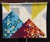 EMQG QuiltCon Charity Quilt - hanging at QuiltCon 2015