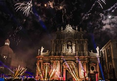 Fireworks for SaintAgathe...