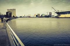 Walking around Portsmouth, VA