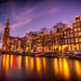 Famous Canals of Amsterdam by angheloflores