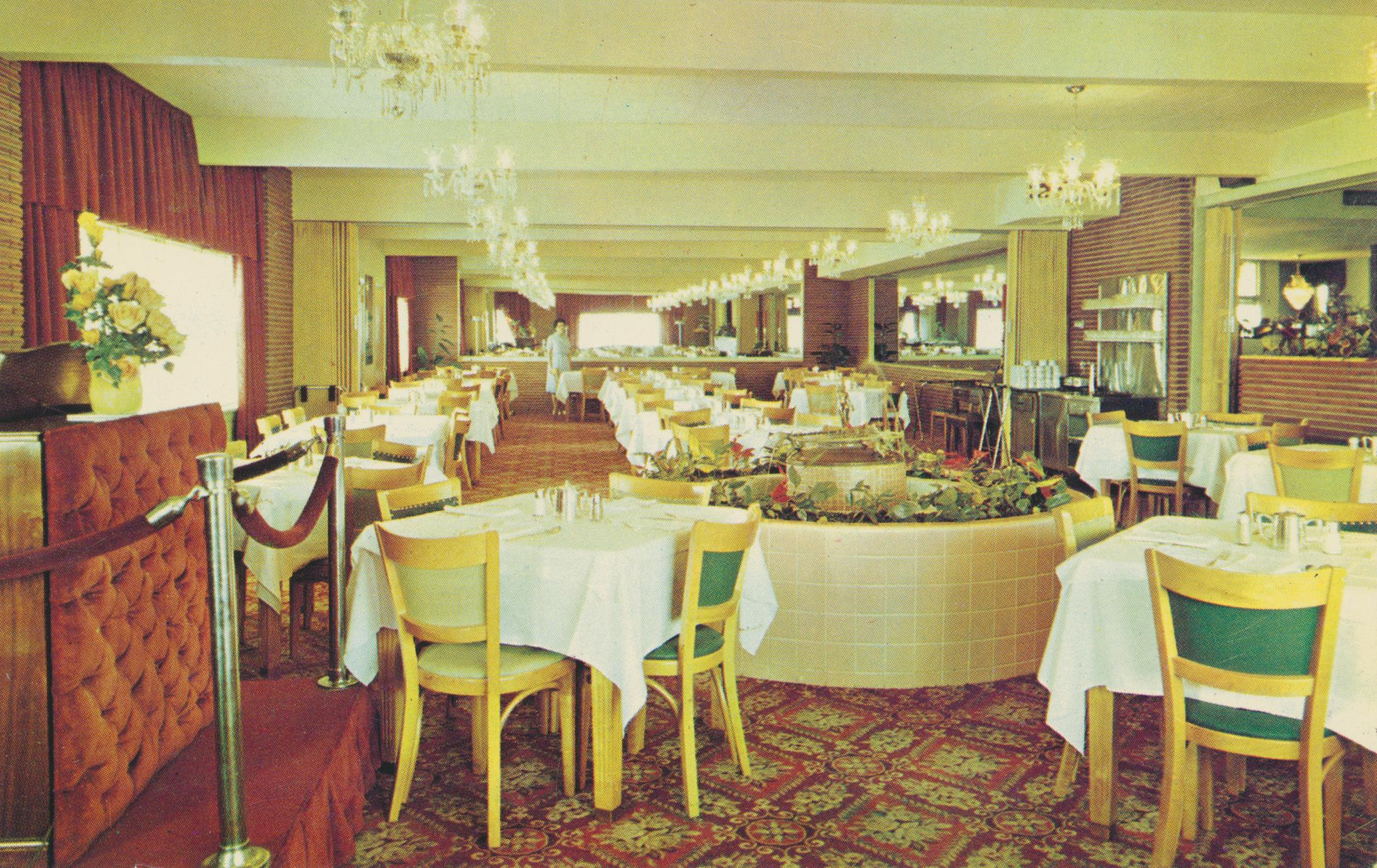 Monte Cristo Motor Court Dining Room - Grenada, Mississippi
