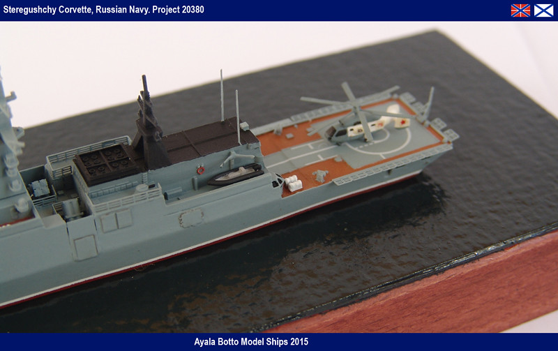 Corvette Russe Steregushchy 530, Project 20380 - Gwylan Models / Combrig 1/700 16598481466_6313936336_b