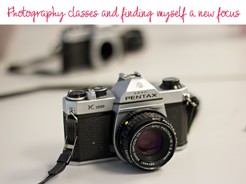 finding photography and focus