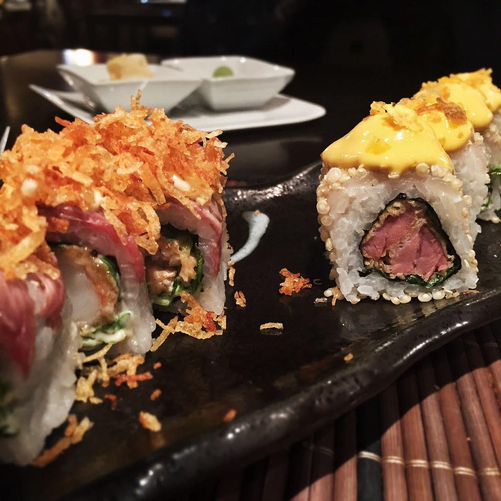 Uramaki mar y montaña & Uramaki quinoa