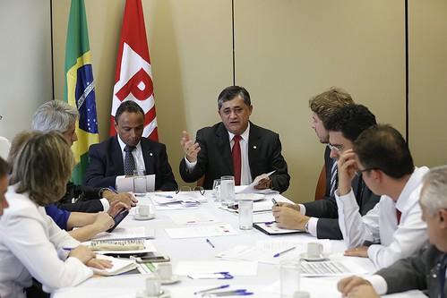 Reunião da Coordenação da Bancada do PT na Câmara