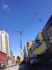 Crane on Rideau street