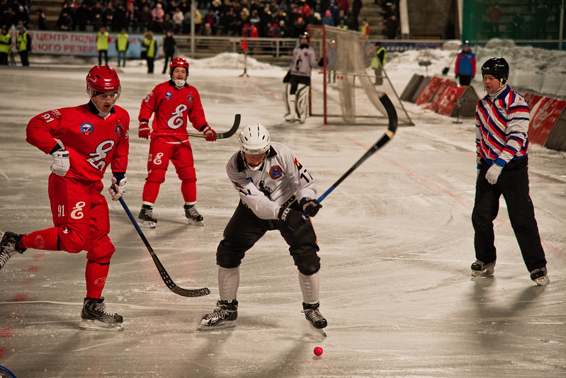 Yenisey Krasnoyarsk Bandy Club vs. Kuzbass Kemerovo Bandy Club