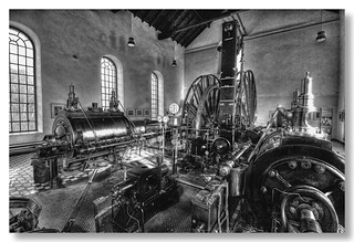Witten - Muttental - Zeche Nachtigall Dampffördermaschine 06