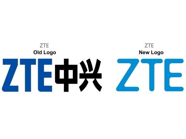 Logos viejos y nuevos de ZTE