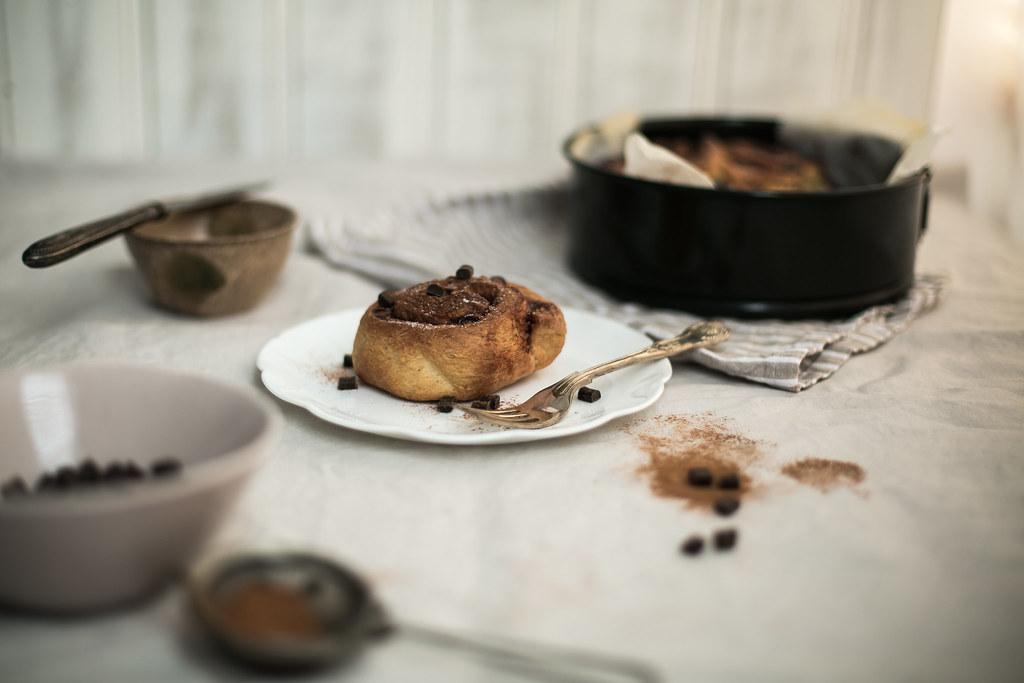 Scandinavian Chocolate Cinnamon Buns