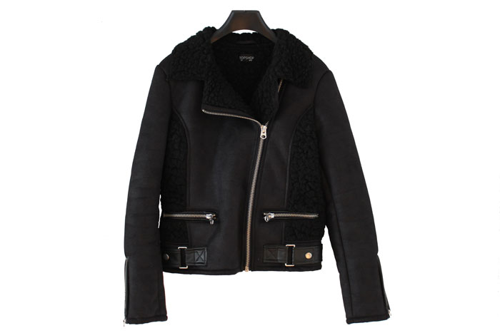 topshop-faux-sheepskin-jacket-black