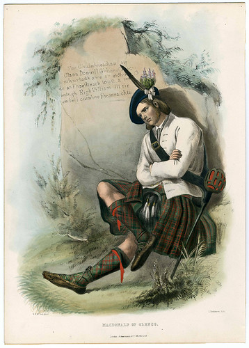 007-Clans_of_the_Scottish_Highlands_1847_Plate_021-The Metropolitan Museum of Art-Thomas J. Watson Library