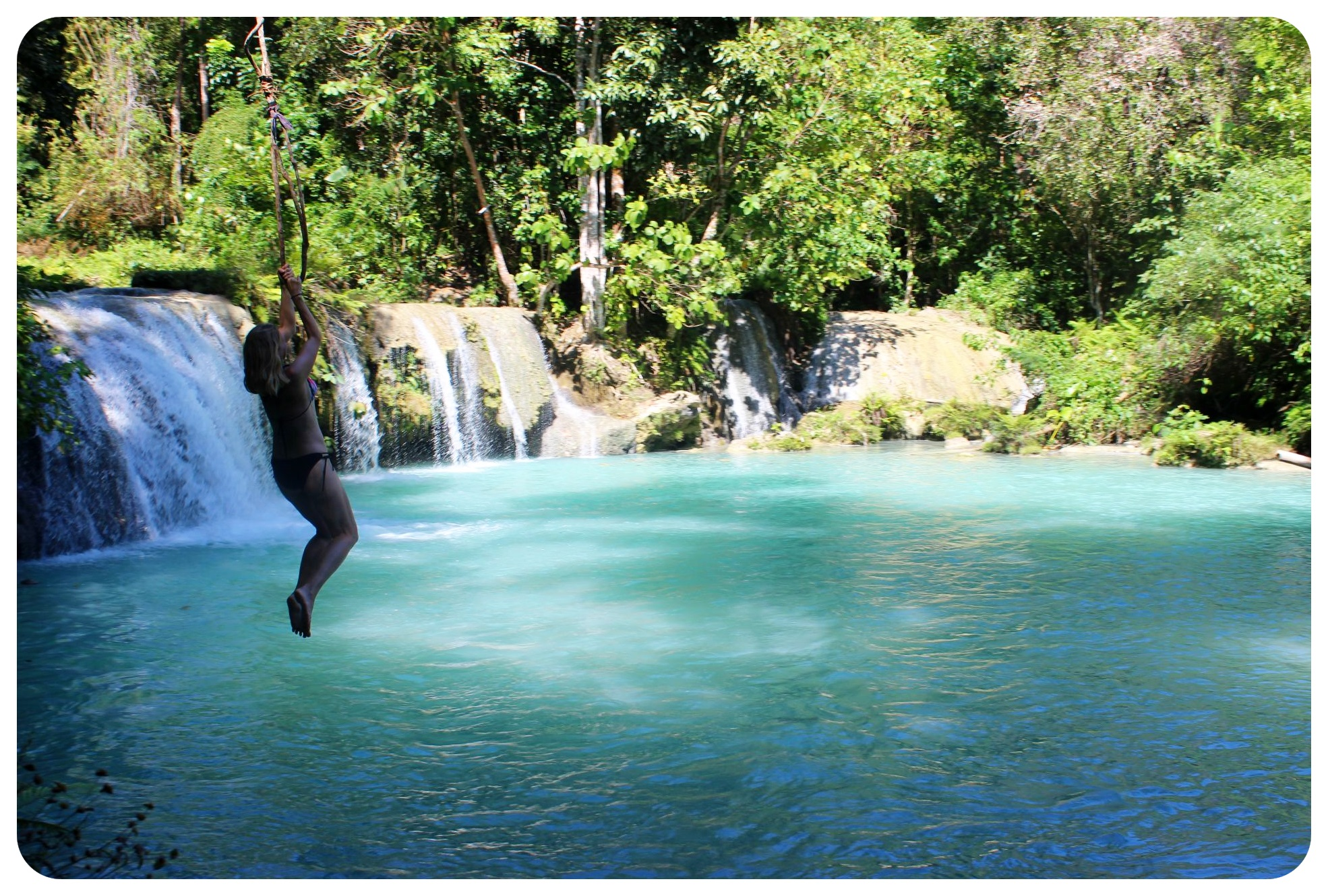 siquijor waterfall fun