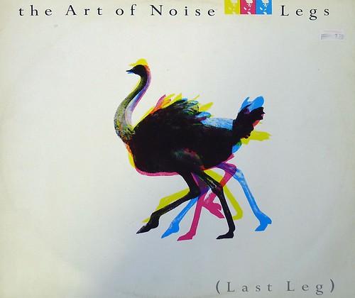 """ART OF NOISE LEGS / LAST LEG OSTRICH 12"""" MAXI-SINGLE VINYL"""