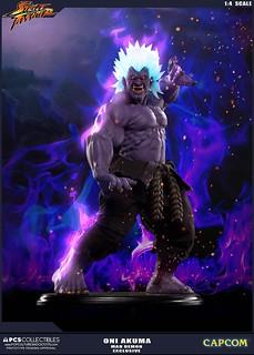 超越真豪鬼的存在!Pop Culture Shock 狂鬼 1/4 比例雕像 ONI AKUMA 狂オシキ鬼