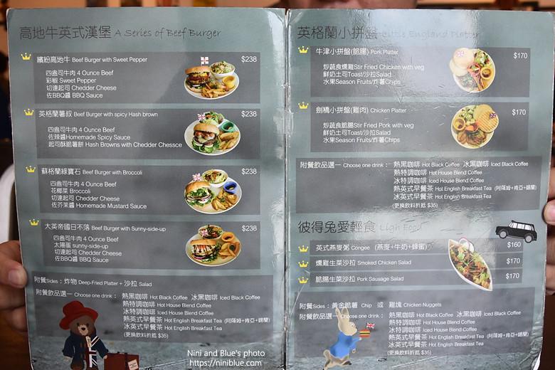 台中漢堡巴士菜單menu價位05