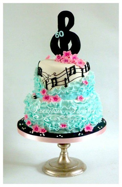 Music Cake by CakesDecor.com