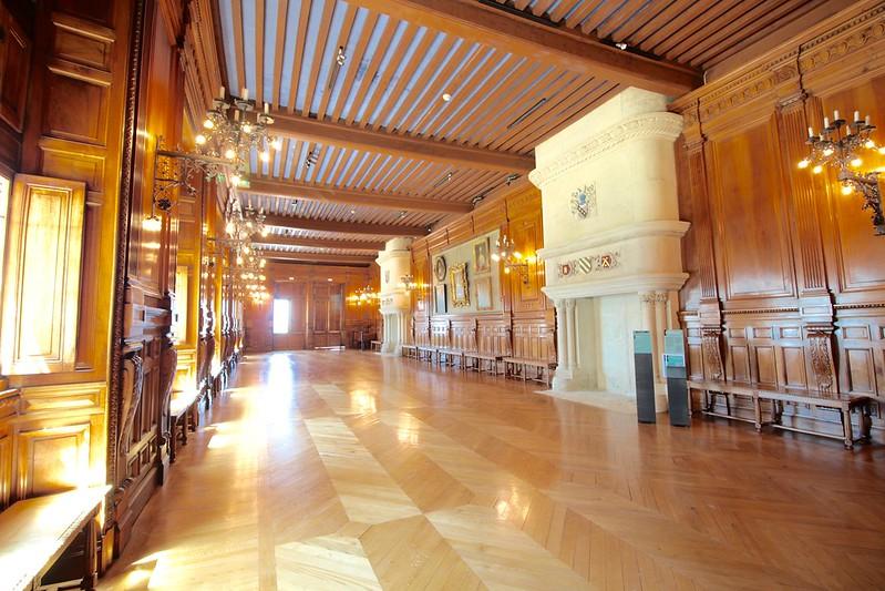 Grignan Castle wood gallery