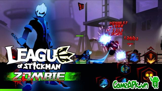 League of Stickman Zombie v1.2.2 hack full cho Android