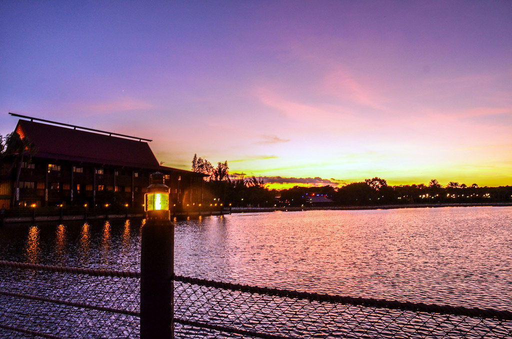 Polynesian sunset