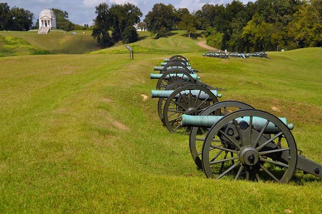 Vicksburg National military Park, MS