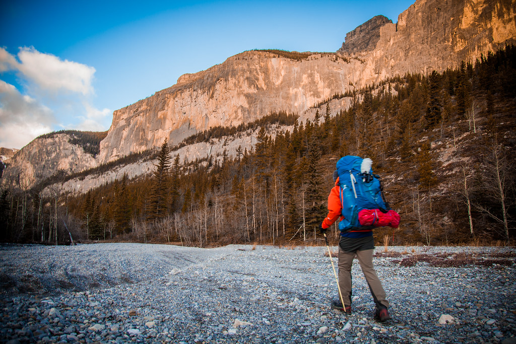Walking from Calgary to Banff