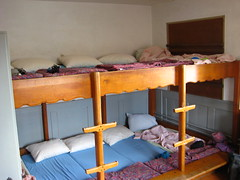 play(0.0), furniture(1.0), room(1.0), property(1.0), bed(1.0), bunk bed(1.0), dormitory(1.0), hostel(1.0),