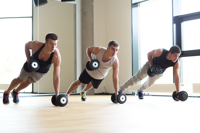 Core classes and core training in the gym