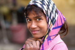 Portrait of a young Indian Girll