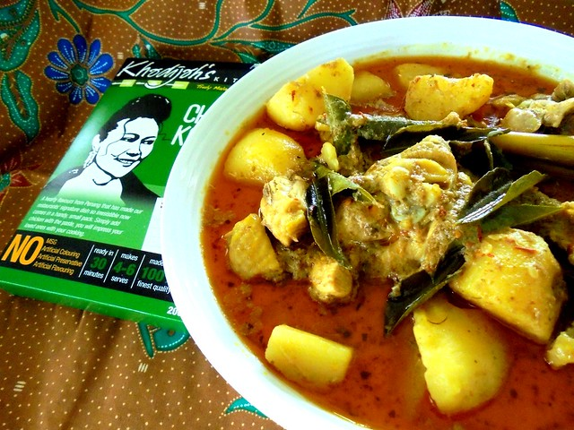 Khadijah's Kitchen chicken kapitan 6