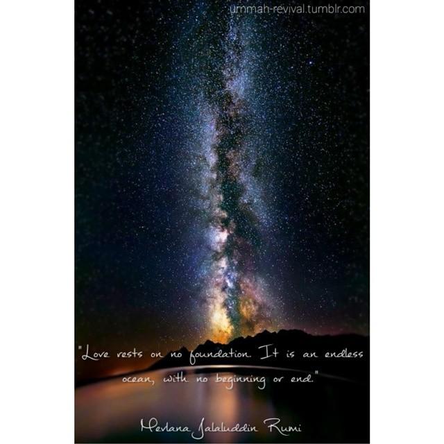 Endless Ocean Quran Islam Muslim Hadith Sahabah Deen Reminder New Islamic Galaxy Qoutes