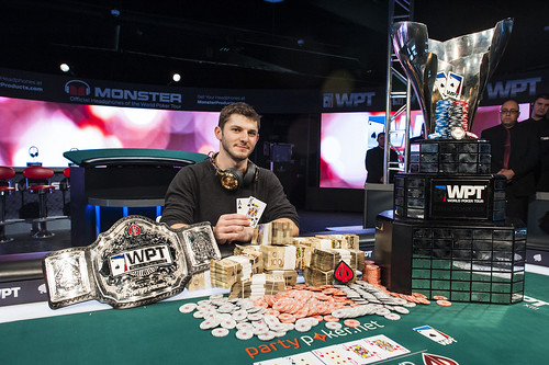 partypoker WPT Montreal Champion Jonathan Jaffe