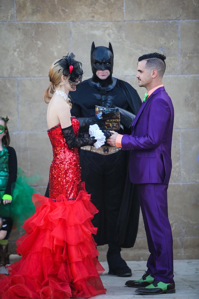 alison amp ryans superhero vs villains costume party
