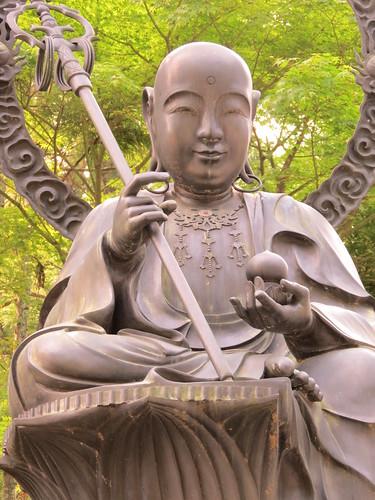 The Guardian deity of longevity (Enmei Jizo)
