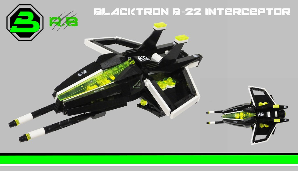 Neo-Blacktron B-22 interceptor