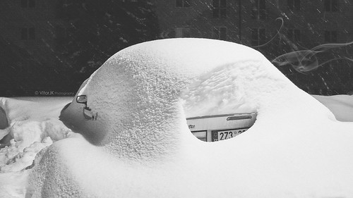 Winter Automotive Art