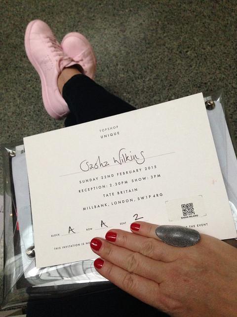 london fashion week topshop