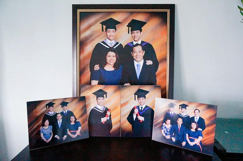 typicalben graduation photo framed